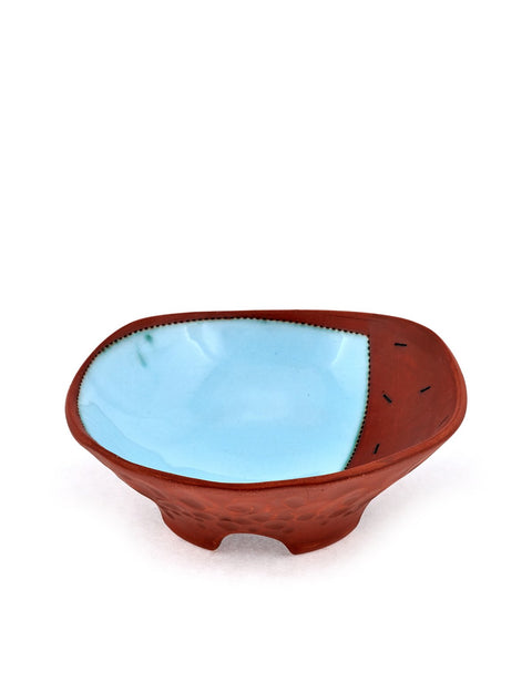 Blue Babe Squared Bowl