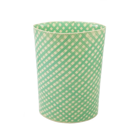 Mint Lattice Vase