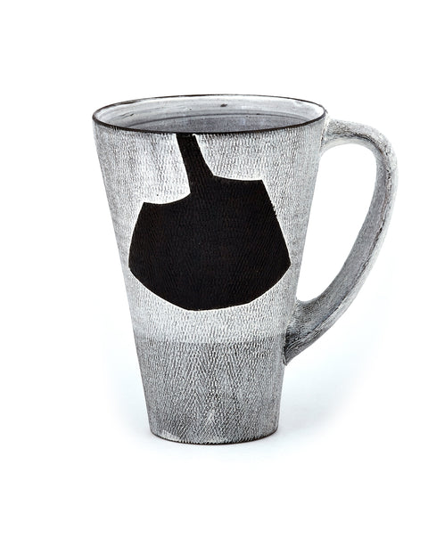 wheel thrown mug handmade by lindsay rogers