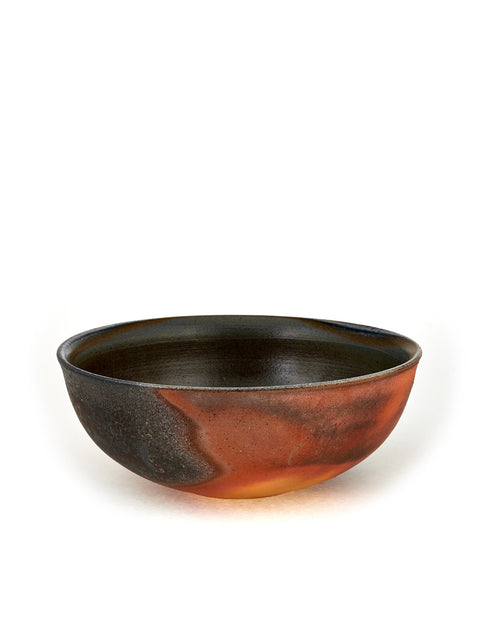 Soda-fired stoneware serving bowl handmade by Stuart Gair