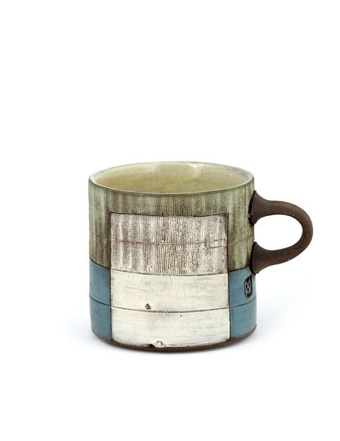 Handmade coffee mug by Mark Arnold