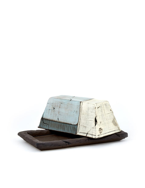 Handmade butter dish by Mark Arnold