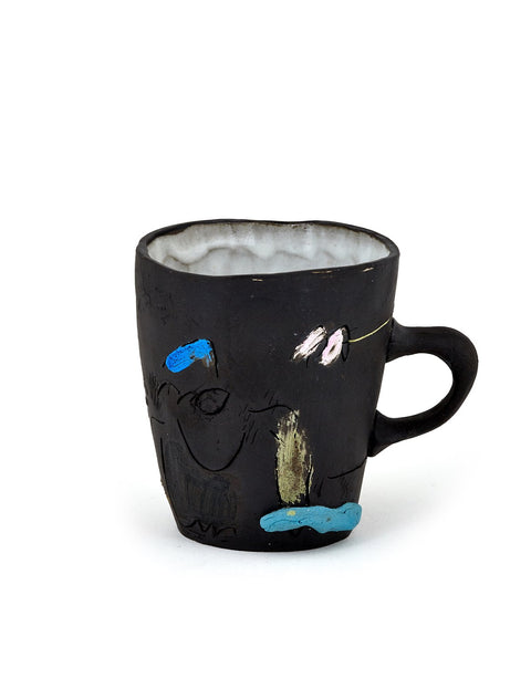 Handmade illustrated mug by Joe Kraft