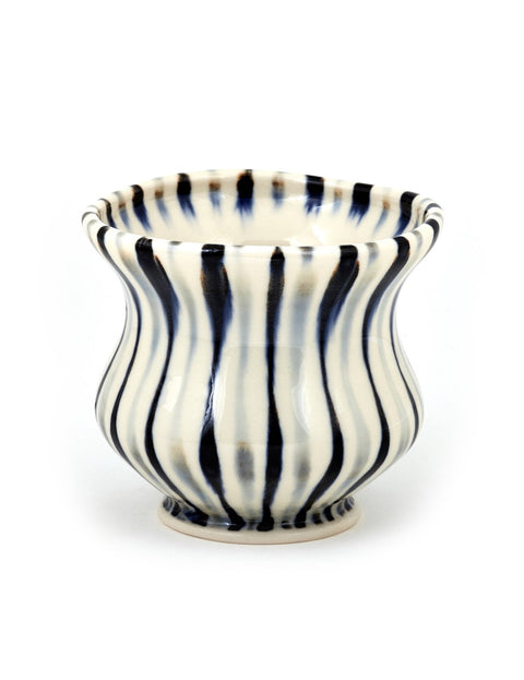 Handmade porcelain cup by Sean O'Connell
