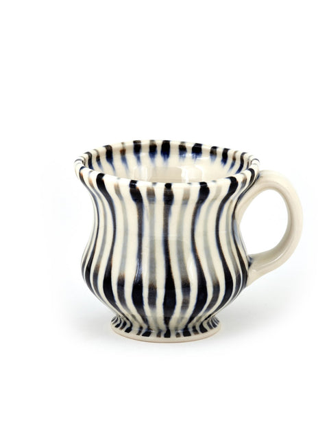 Handmade porcelain coffee mug by Sean O'Connell