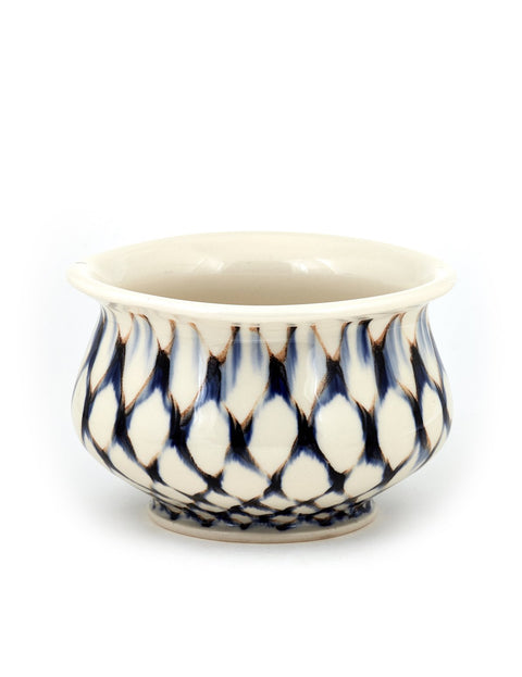 Handmade porcelain soup bowl by Sean O'Connell