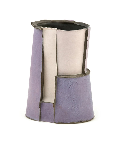 Handmade colored porcelain slip-cast tumbler/ cup by Kyle Johns