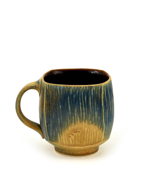 Glazed coffee mug handmade by Nick DeVries