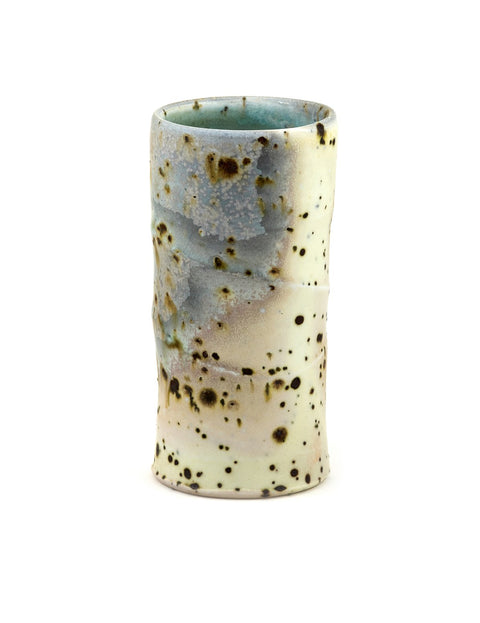 Wood-fired tumbler handmade by Perry Haas