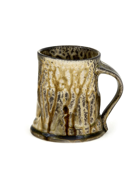 Wheelthrown wood-fired mug/cup by Doug Jeppesen