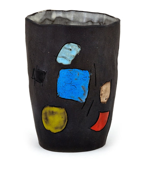 Handmade illustrated tumbler/cup by Joe Kraft