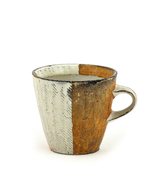 Handmade soda-fired diner mug by Bill Wilkey