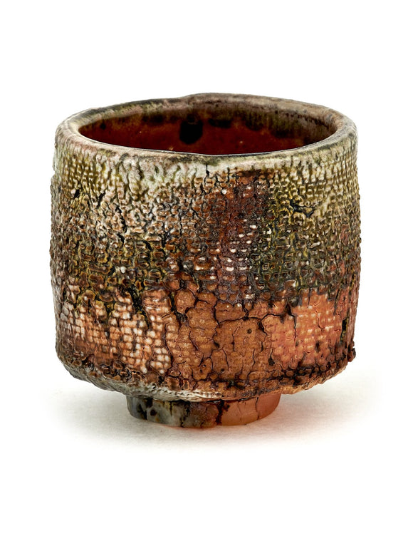 Wood-fired teabowl by Jonathan Pacheco