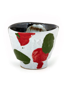 Handmade earthenware yunomi/cup by Mike Helke