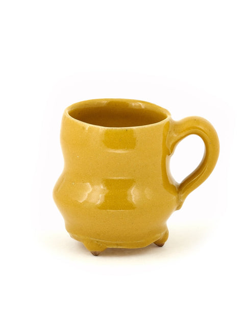 Handmade earthenware mug/cup by Mike Helke