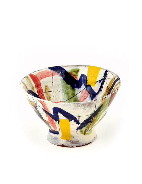 Handmade earthenware bowl by Mike Helke