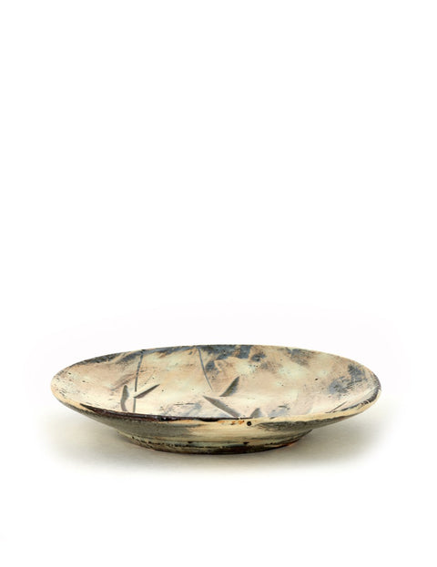 Handmade plate by Bandana Pottery/ Michael Hunt and Naomi Dalglish