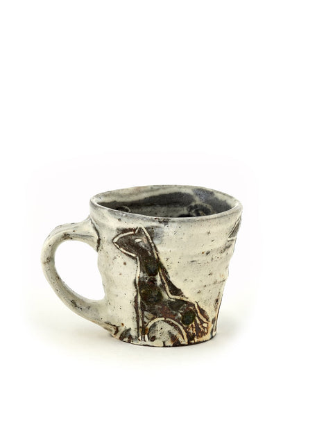 Handmade coffee mug/cup by Bandana Pottery/ Michael Hunt and Naomi Dalglish
