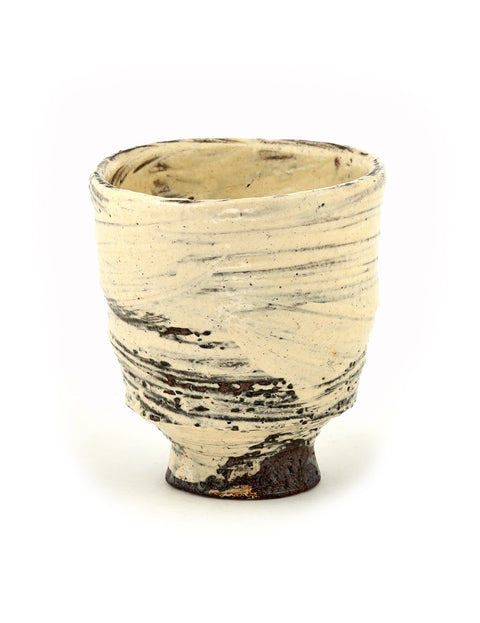 Handmade yunomi/cup by Bandana Pottery/ Michael Hunt and Naomi Dalglish