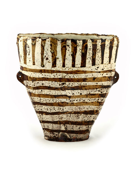 Handmade vase by Bandana Pottery/ Michael Hunt and Naomi Dalglish