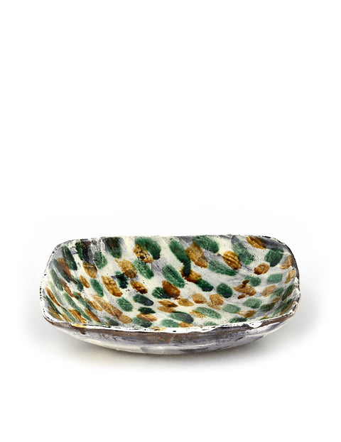 Handmade serving platter by Bandana Pottery/ Michael Hunt and Naomi Dalglish