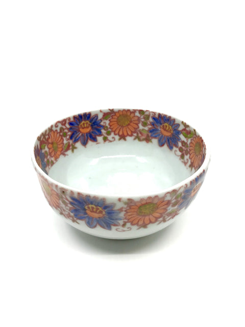 Handmade decorated bowl by Shelley Rosenstein