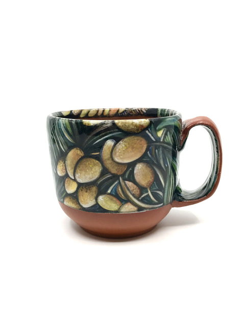 Handmade illustrative mug/cup by Christina Gola