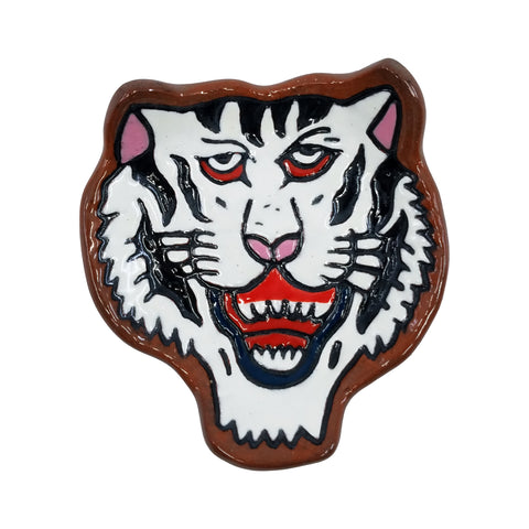 Black and White Tiger Trinket Dish