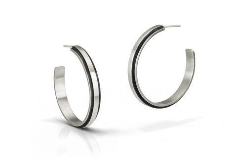 Medium Edge Hoops
