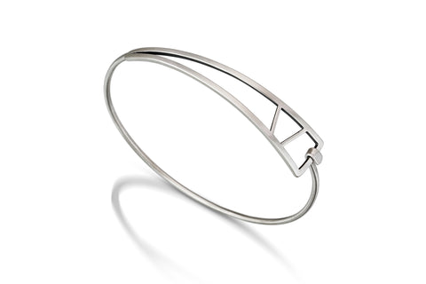 Tri-Shape Bangle