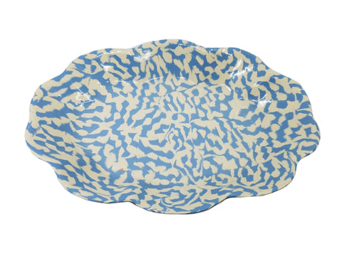 Blue Cloud Platter