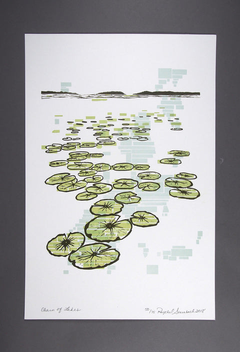 Chain of Lakes Print