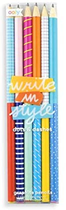 Write in Style Dots Print Pencils