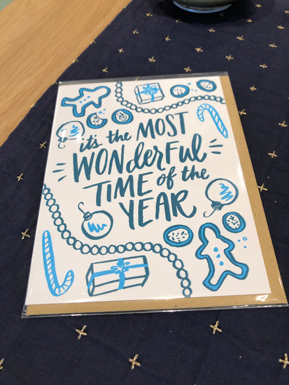 Most Wonderful Time Holiday Card
