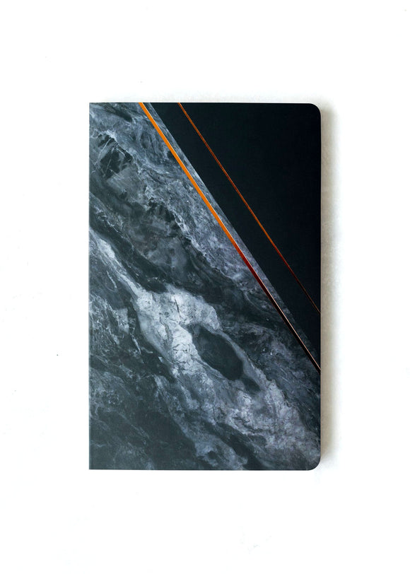 Obsidian Notebook - Lined or Blank