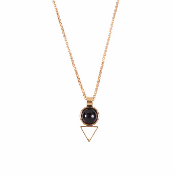Onyx Tiny Elder Necklace