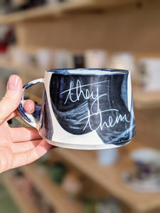 They/Them Pronouns Mug