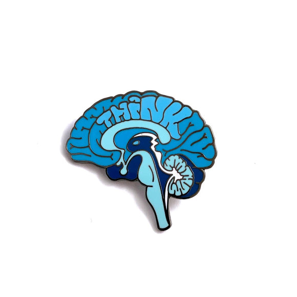 Think Anatomical Brain Pin