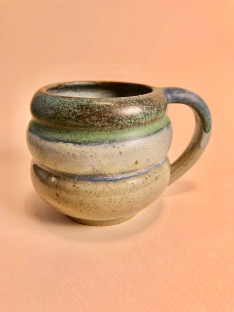 Blue Green Bubble Mug
