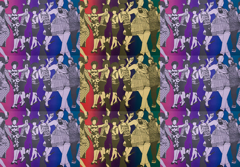 Dancing Femmes Print (Multiple Colors)