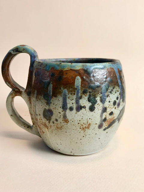Drippy Double Handle Mug