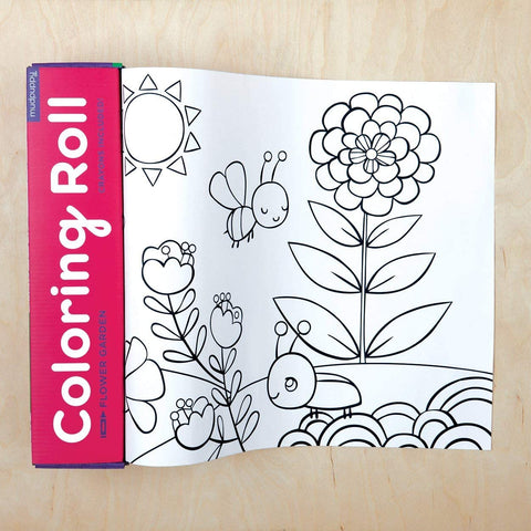 Flower Garden Coloring Roll - 2 sizes
