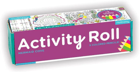 Mermaid Cove Activity Roll