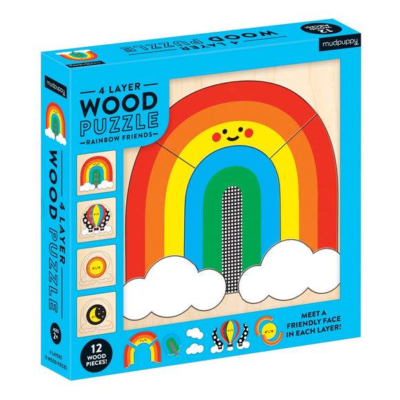 Rainbow Friends Wood Puzzle