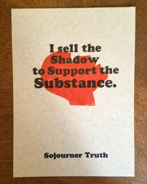 Support the Substance Print
