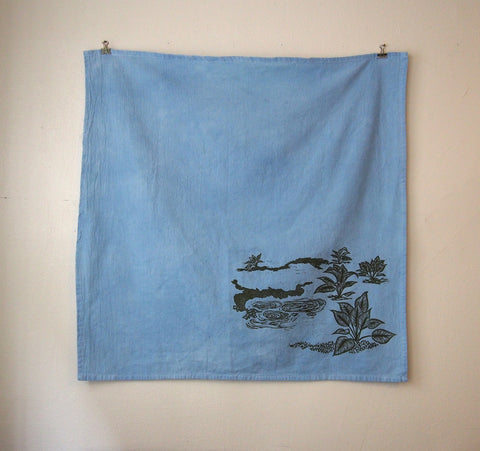 Silver Springs Tea Towel