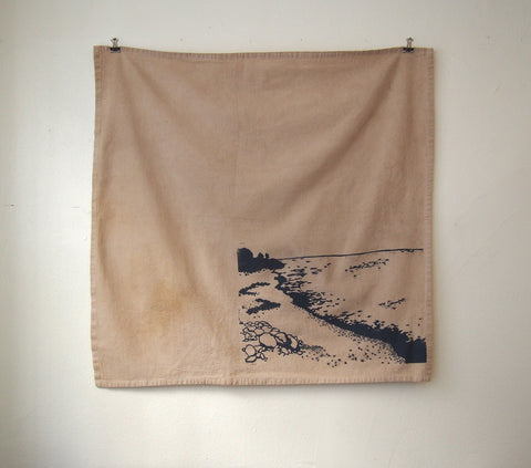 Stone Beach Tea Towel