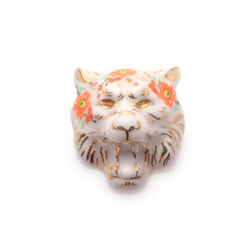 Tiger Tiger Brooch (Red Blossom)