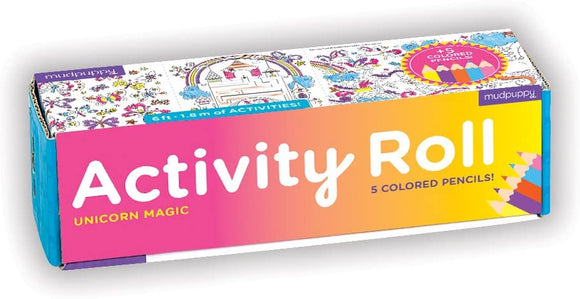 Unicorn Magic Activity Roll