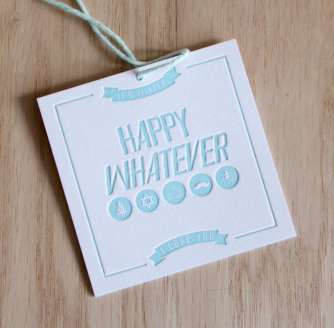 Happy Whatever Gift Tags